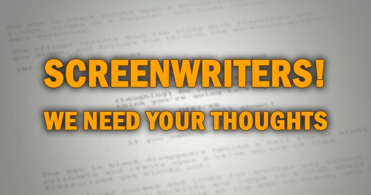 Screenwriters' Survey