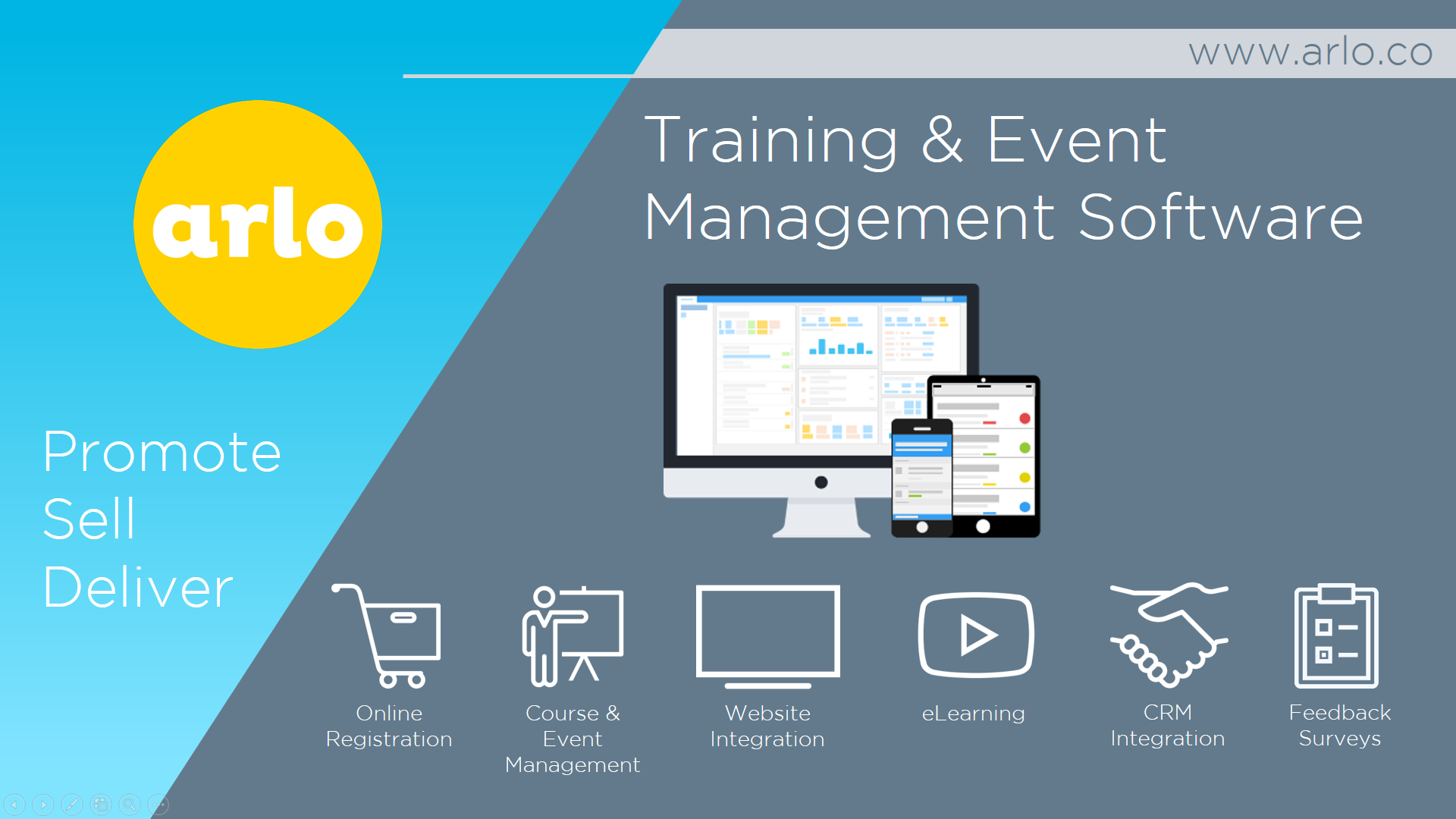 Arlo Training & Event Management Software