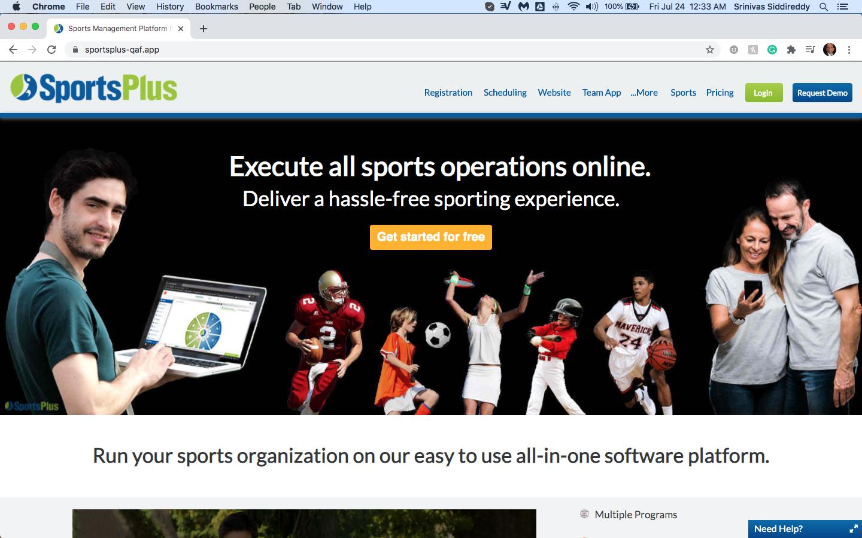 SportsPlus - Sports Platform