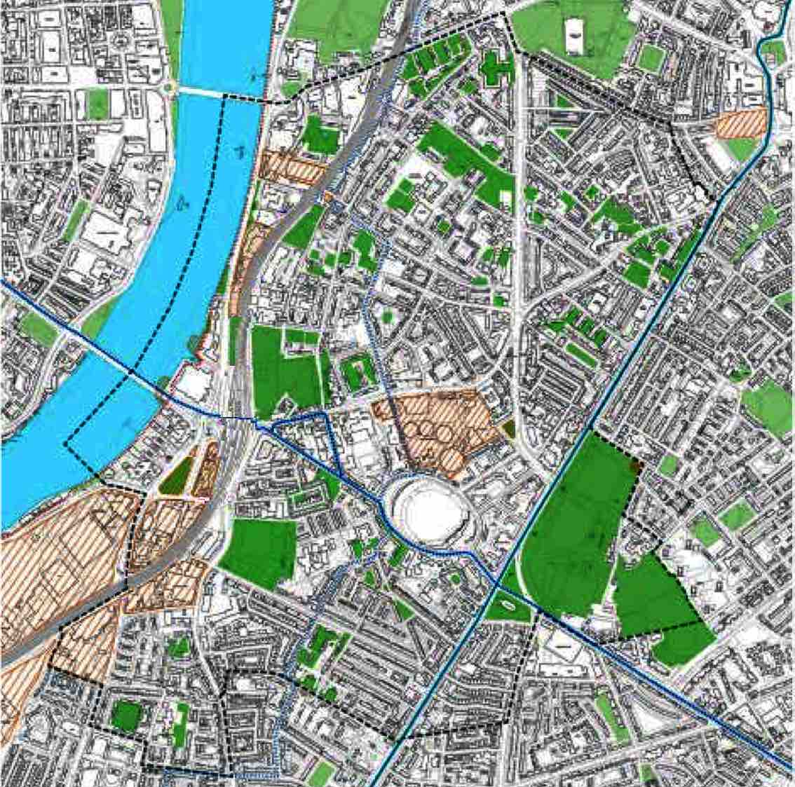 Kennington Oval Vauxhall Neighbourhood Plan Area