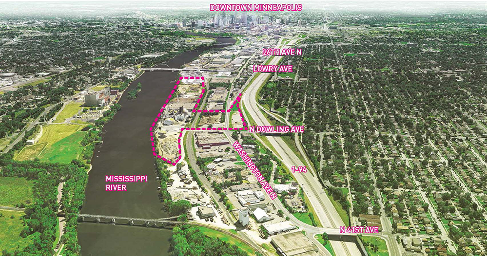 Upper Harbor Terminal Site Boundary