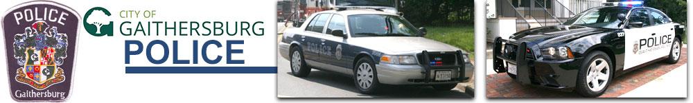 City of Gaithersburg Police Logo