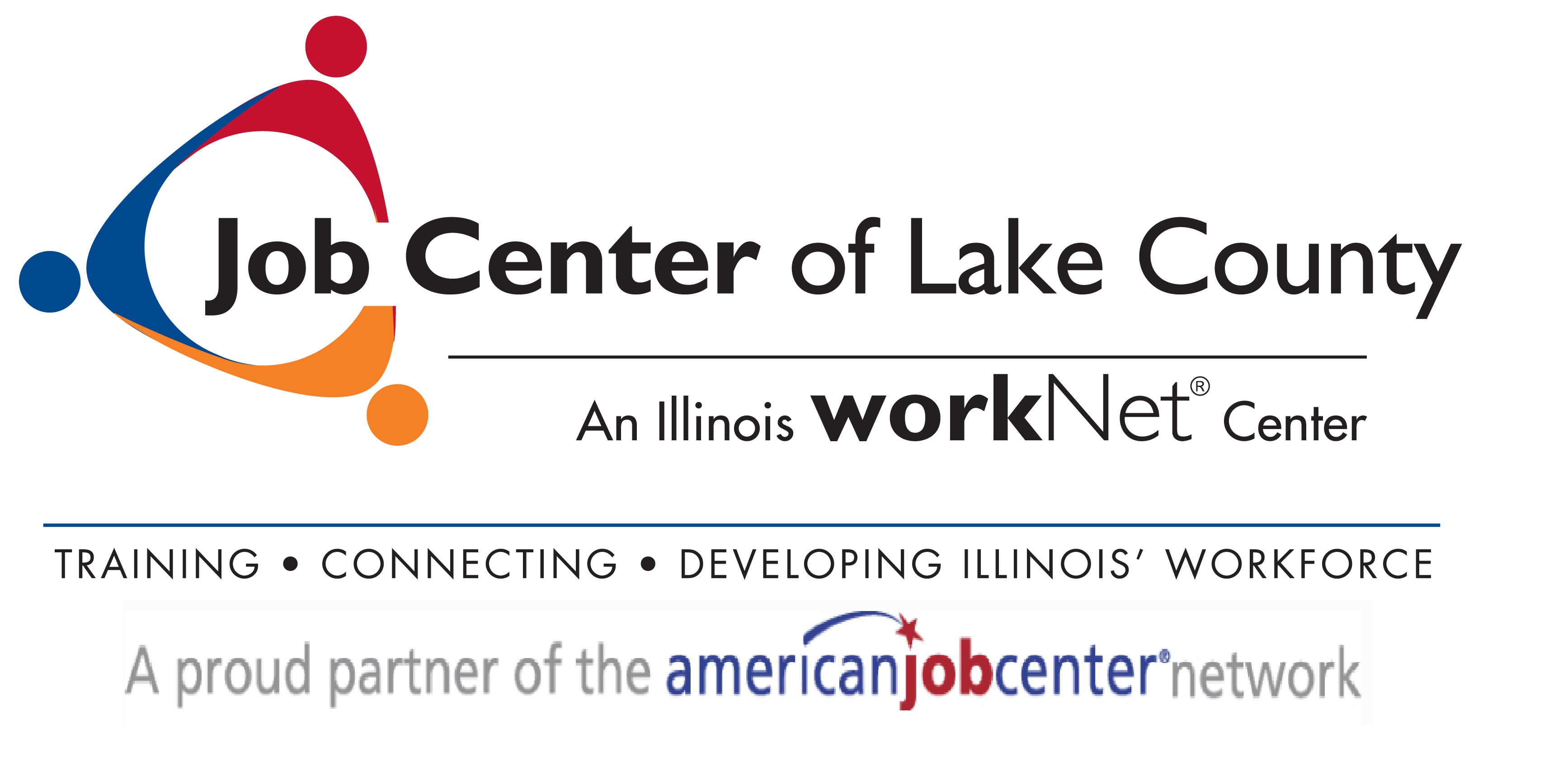 Job Center and American Job Center logos