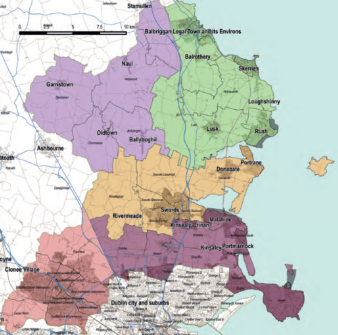 Fingal Areas