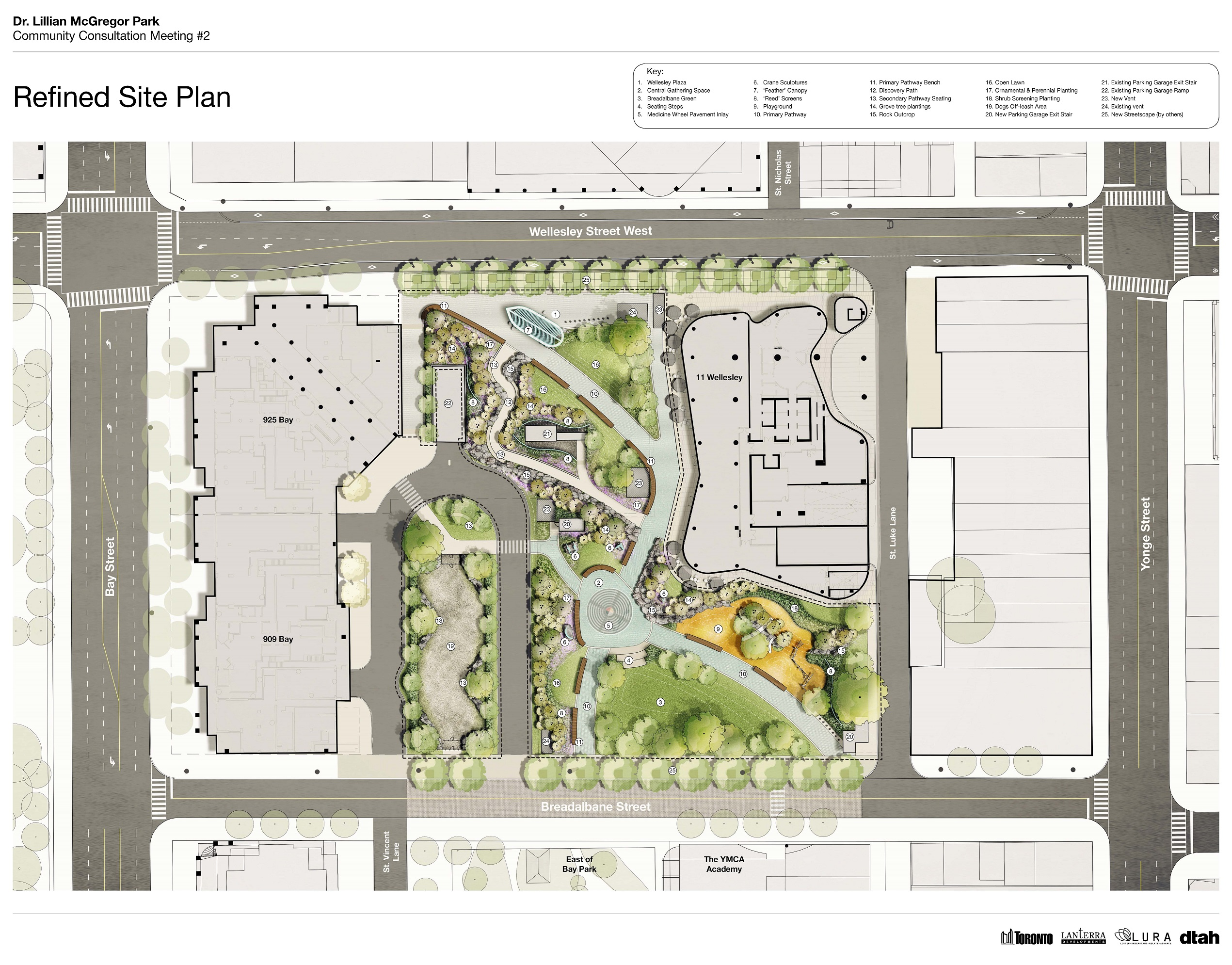 Refined Site Plan - Context