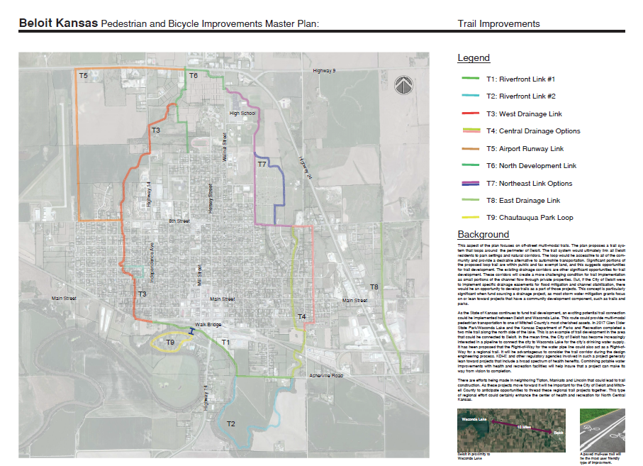 Trail Improvements - Please select your top three choices for trail improvements below.