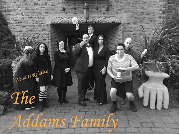 """13. """"The Addams Family"""" by Career Center staff"""