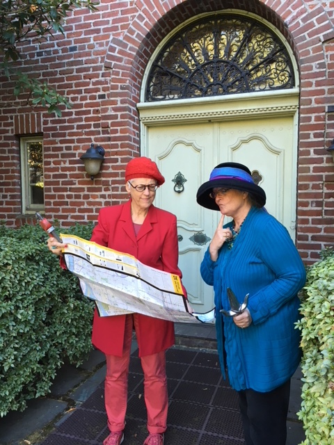 """3. """"Clueless Mrs. Peacock and Miss Scarlet find themselves at the wrong house"""" by River Montijo and Becky Haas (Grad Admissions)"""