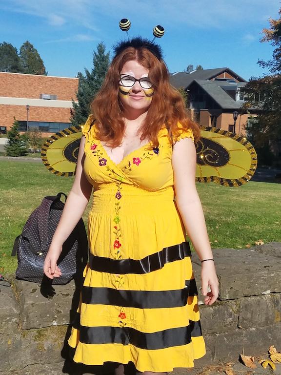 "3. ""Bumble Bee"" by Birgitta Danielson (CAS student)"