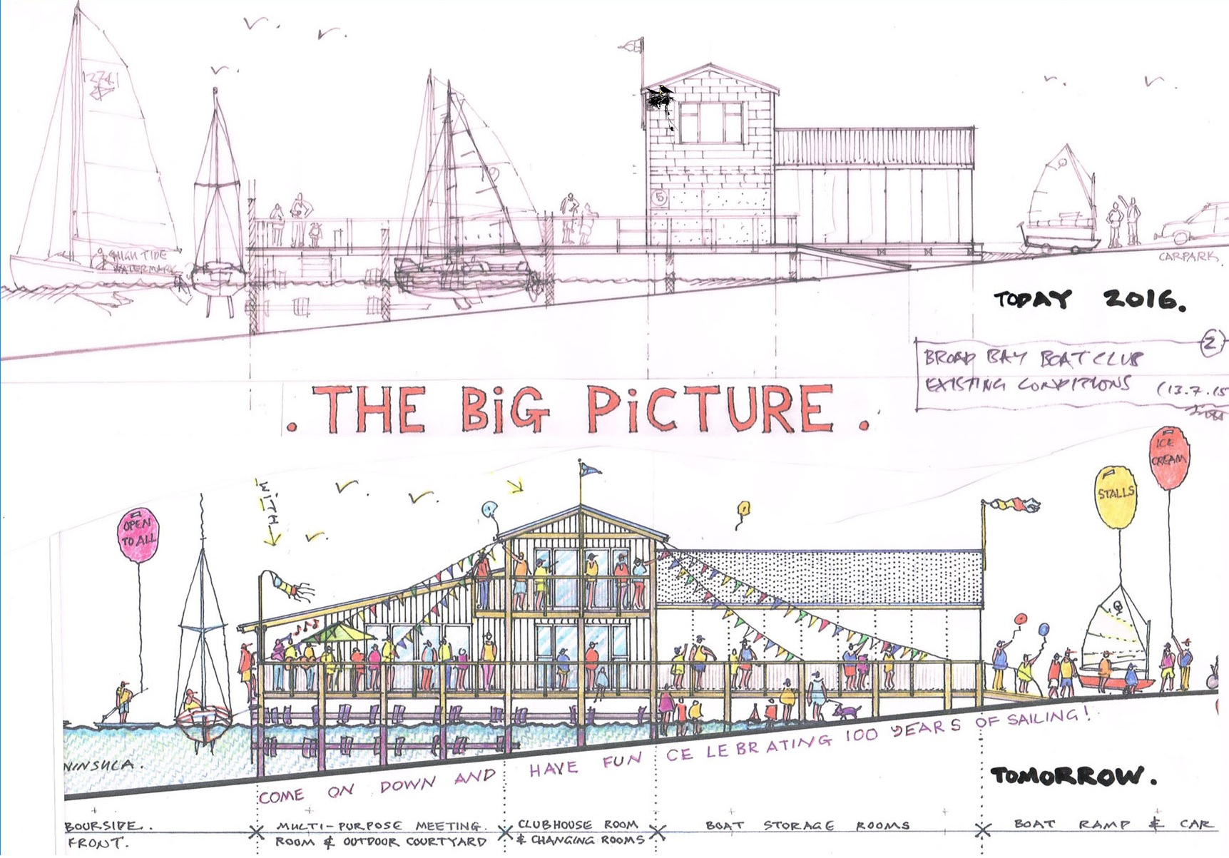 <strong>Proposed Broad Bay Boating Club Redevelopment</strong>