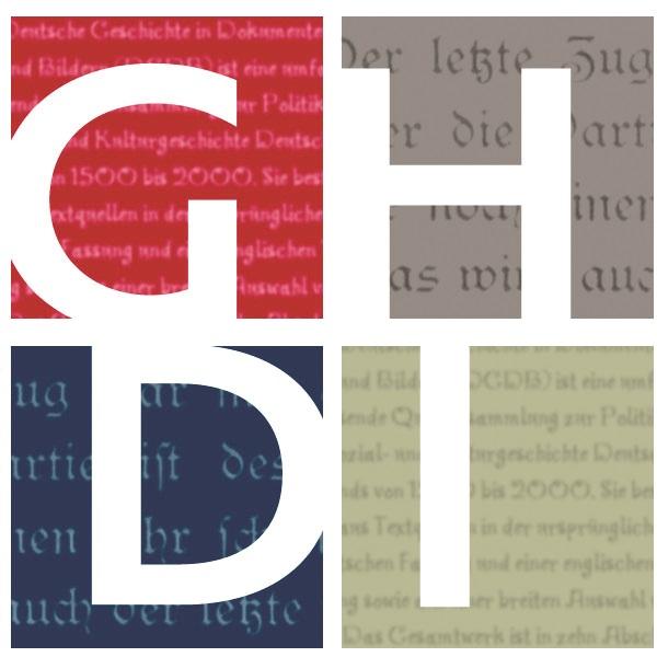 GHDI logo