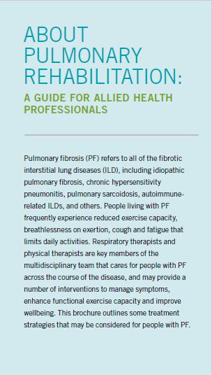 <em>Pulmonary Rehabilitation PocketGuide--</em>For Health Care Professionals
