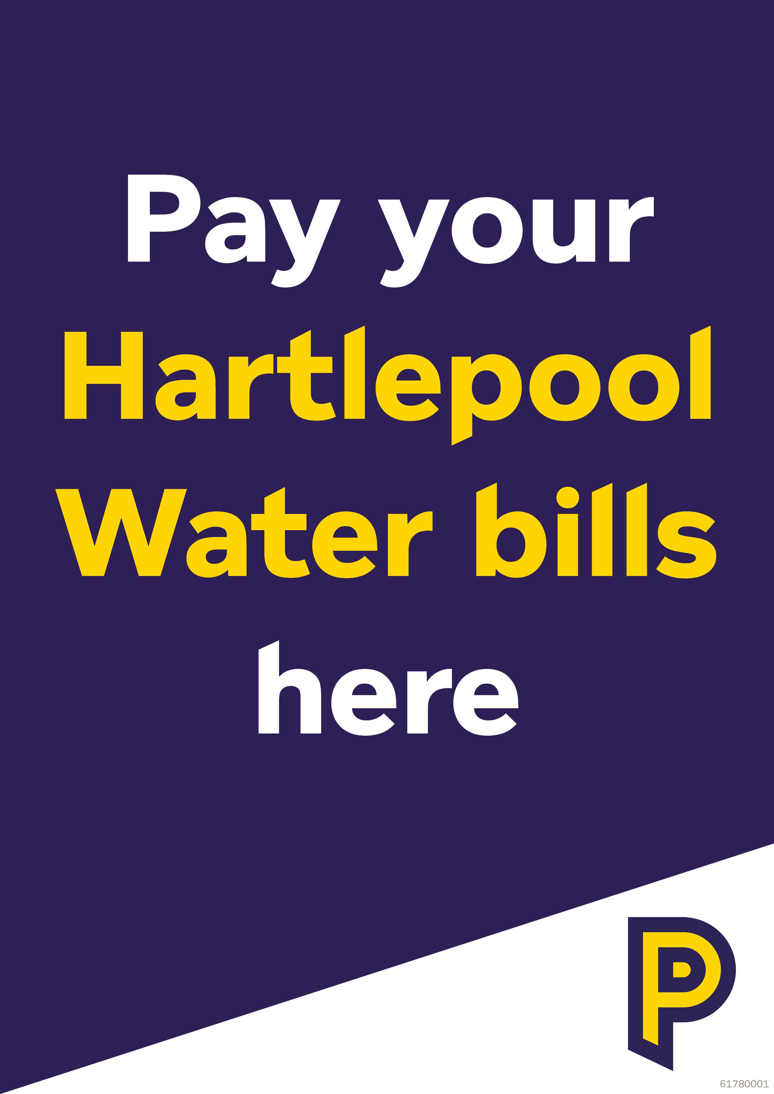 61780001 A4 Hartlepool Water