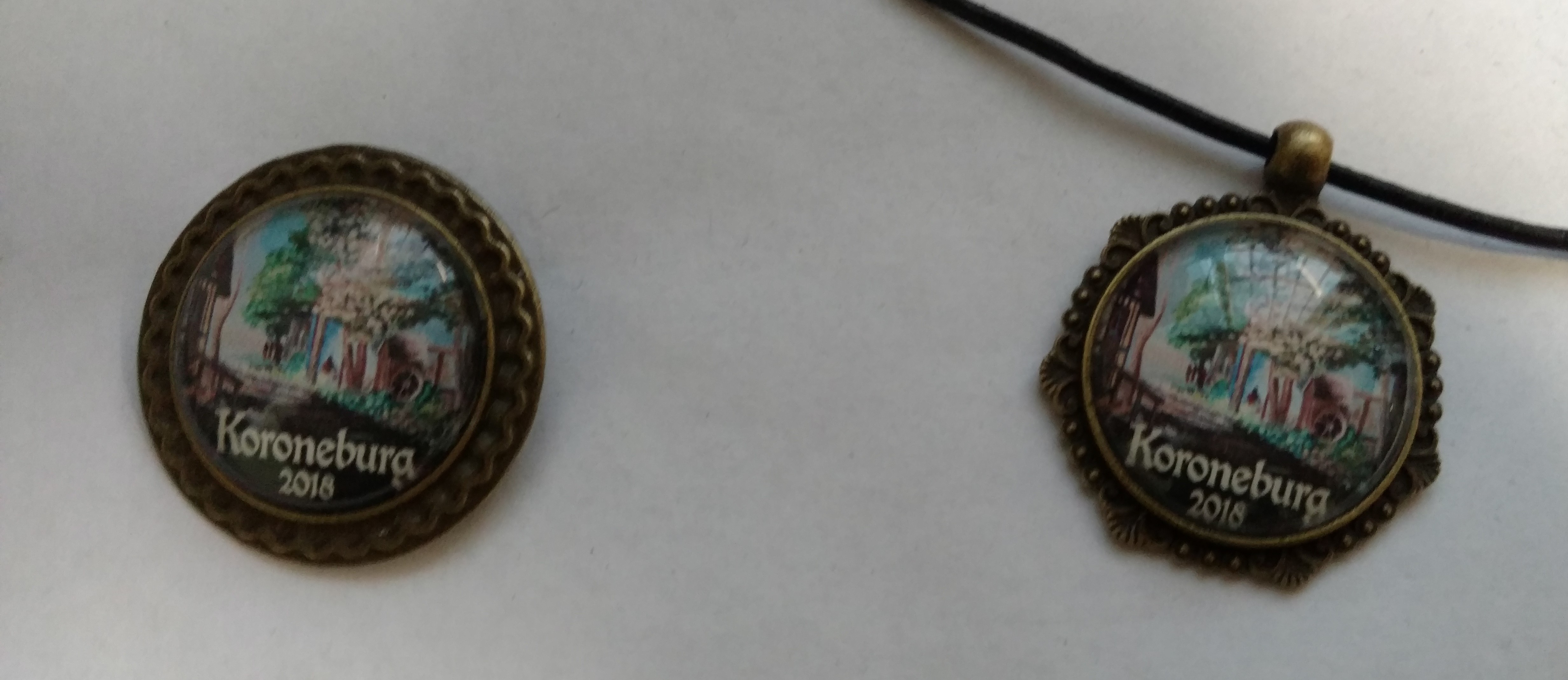 Pin and Pendant