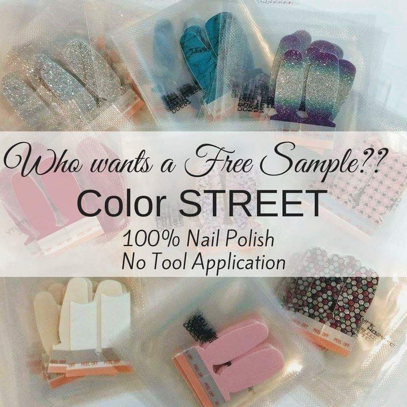 Color Street Sample Request Survey