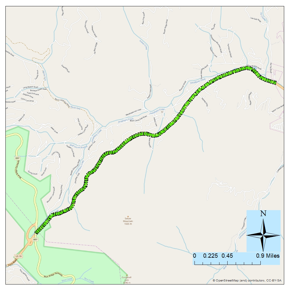 <strong><br><br>Project: Soco Rd (US 19) Modernization from Fie Top Rd (SR 1304) at Ghost Town in the Sky to Blue Ridge Parkway</strong><br><br>Description: This project would Modernize Soco Rd., which could include increasing the lane and/or paved shoulder width, adding rumble strips, straightening unsafe curves and adding turn lanes at intersections to help improve safety and mobility. This project may also include Complete Streets elements such as bike and pedestrian accommodations.
