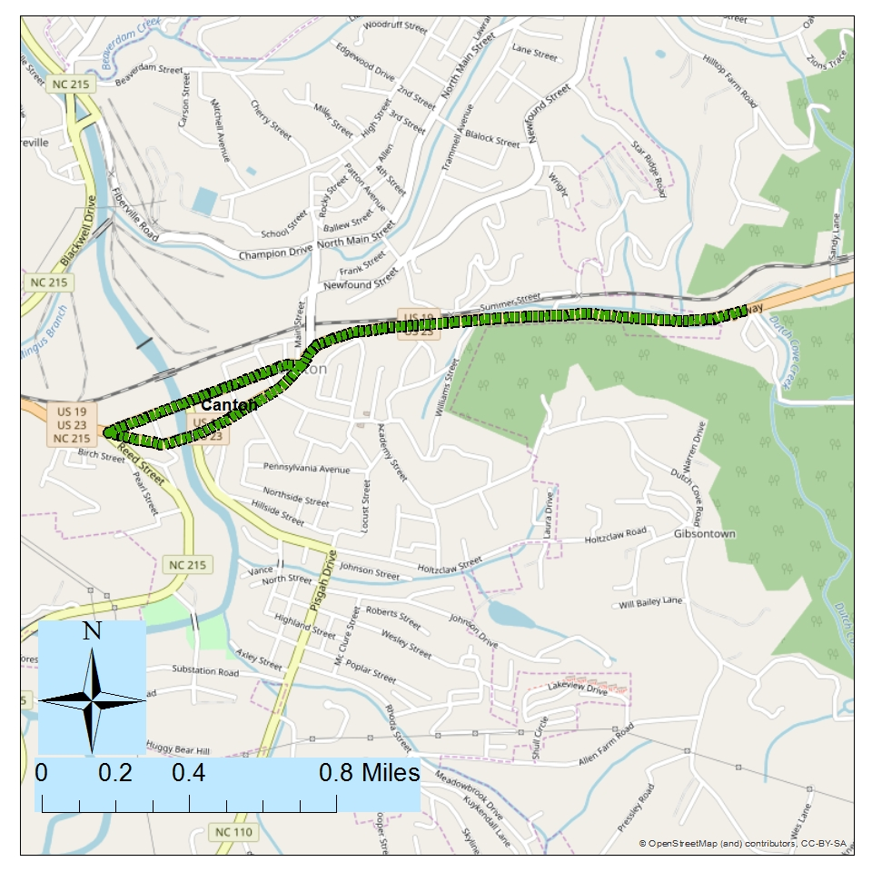 <br><br><strong>Project: US 19/US 23 Modernization from NC 215 in Canton to Chestnut Mountain Rd (SR 1836)</strong><br>Description:  Modernize Roadway, which could include increasing the lane and/or paved shoulder width, adding rumble strips, straightening unsafe curves and adding turn lanes at intersections to help improve safety and mobility. May also include Complete Streets elements such as bike and pedestrian accommodations.