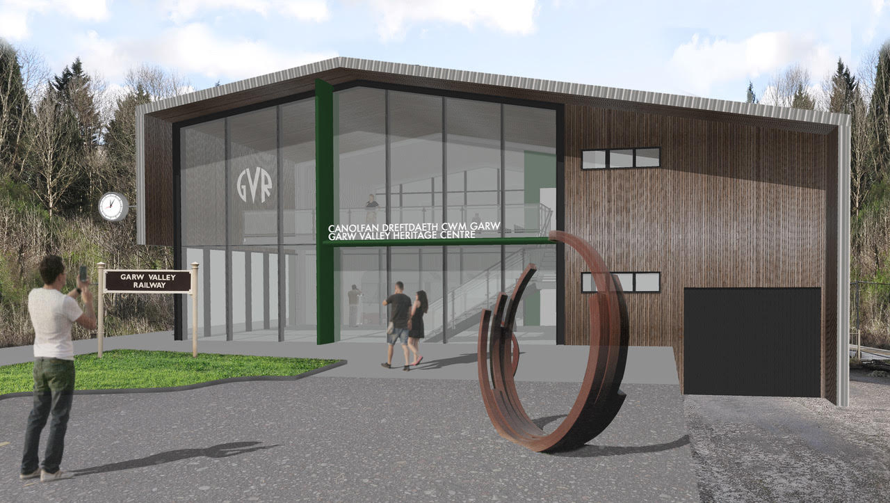 New Heritage Centre built onto front of Railway terminus