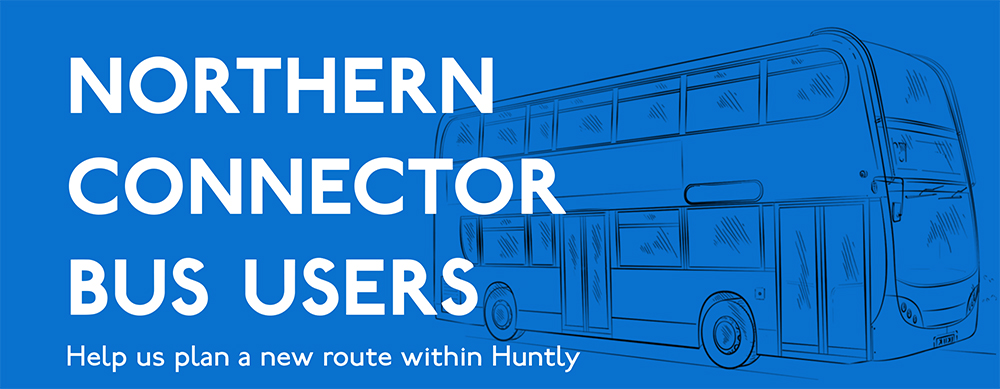 Help us plan a new route within Huntly