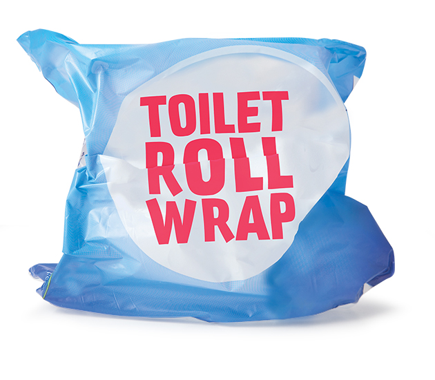 Toilet roll packaging