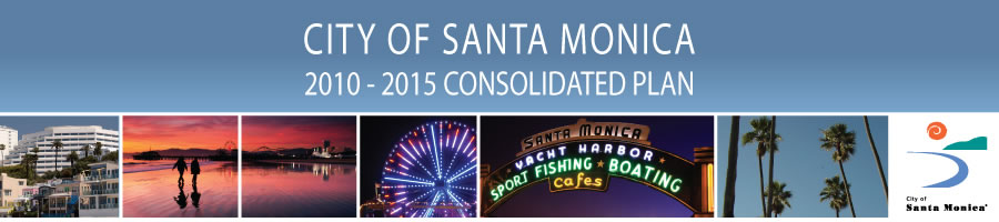 City of Santa Monica 2010-2015 Consolidated Plan