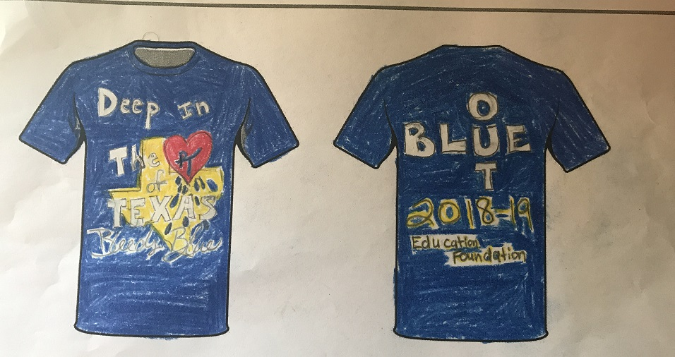 A. Deep in the Heart of TX Bleeds Blue by Eva Price 8th Grade