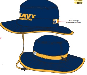 CLINIC EXCLUSIVE: NAVY bucket hat.  <em>This is the first time for this color scheme.</em>