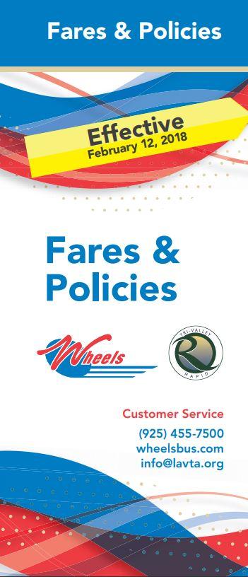 Wheels Fares & Policies