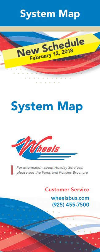 Wheels System Map