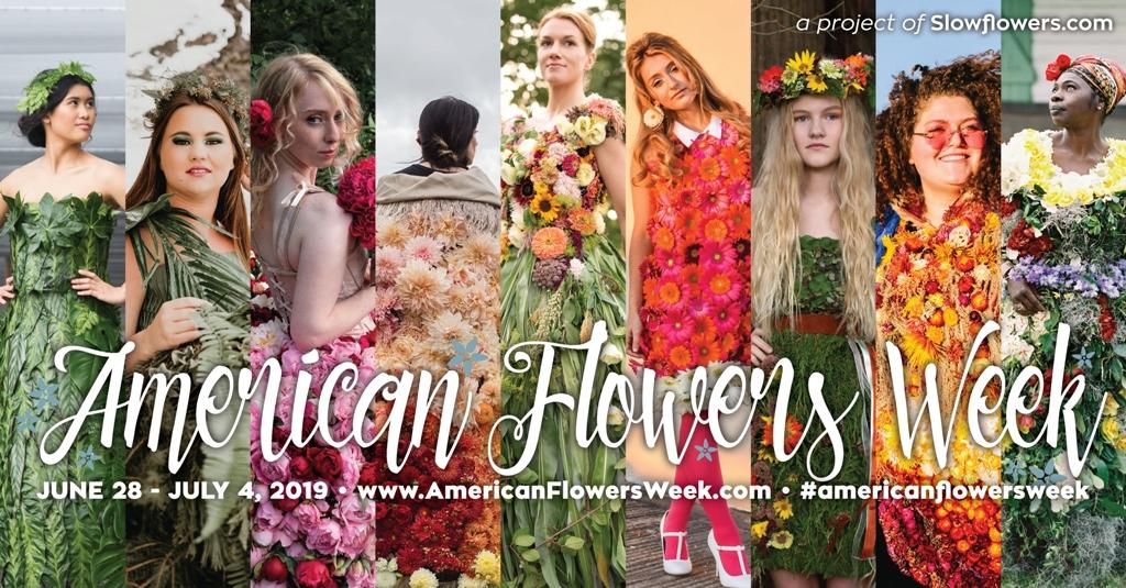 Designed by Grace Flowers Hawaii, 2018 American Fl