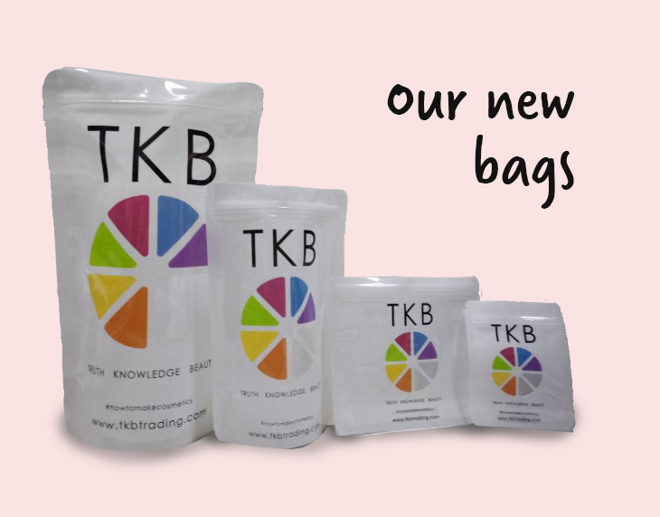 "<span style=""font-family: verdana, geneva, sans-serif; font-size: 14pt;""><br>TKB packs all its powders in bags. We have had requests to offer different options. The purpose of this survey is to get your feedback as we explore other packaging options.<br><br></span>"