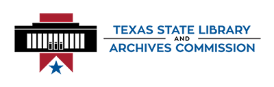 Logo of the Texas State Library and Archives Commi