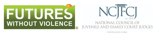 Futures Without Violence and NCJFCJ Logo