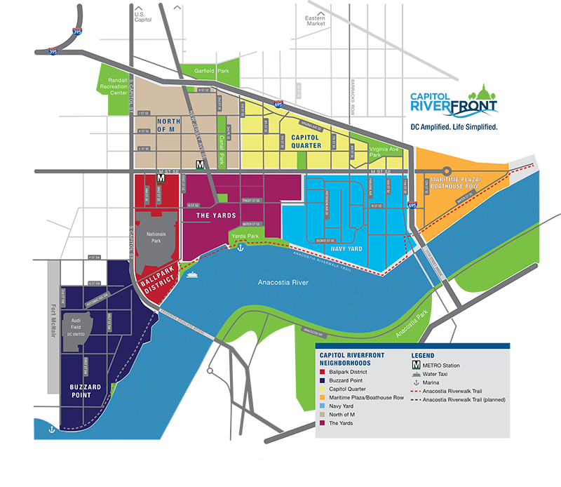 Capitol Riverfront Boundaries