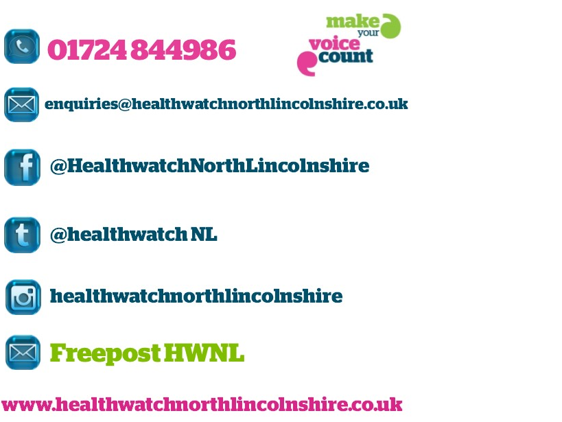 Contact Information for Healthwatch North Lincolnshire