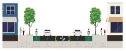 Bike lanes (both sides)