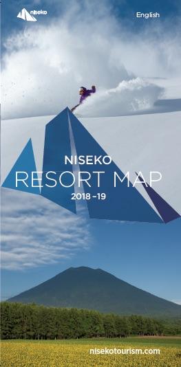 Resort Map/二世古地圖/リゾートマップ