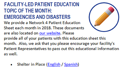September 2018 Patient Education Topic