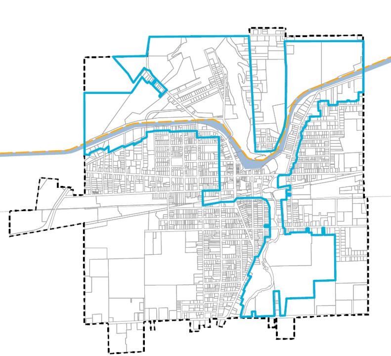 Village of Medina Local Waterfront Revitalization Program Boundary