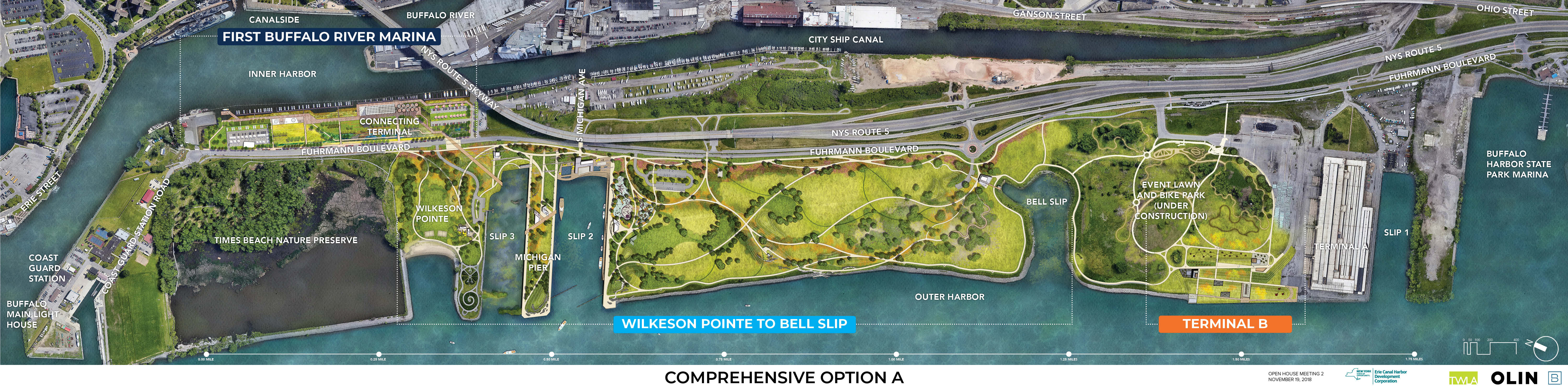 Overall Outer Harbor Capital Plan Option A