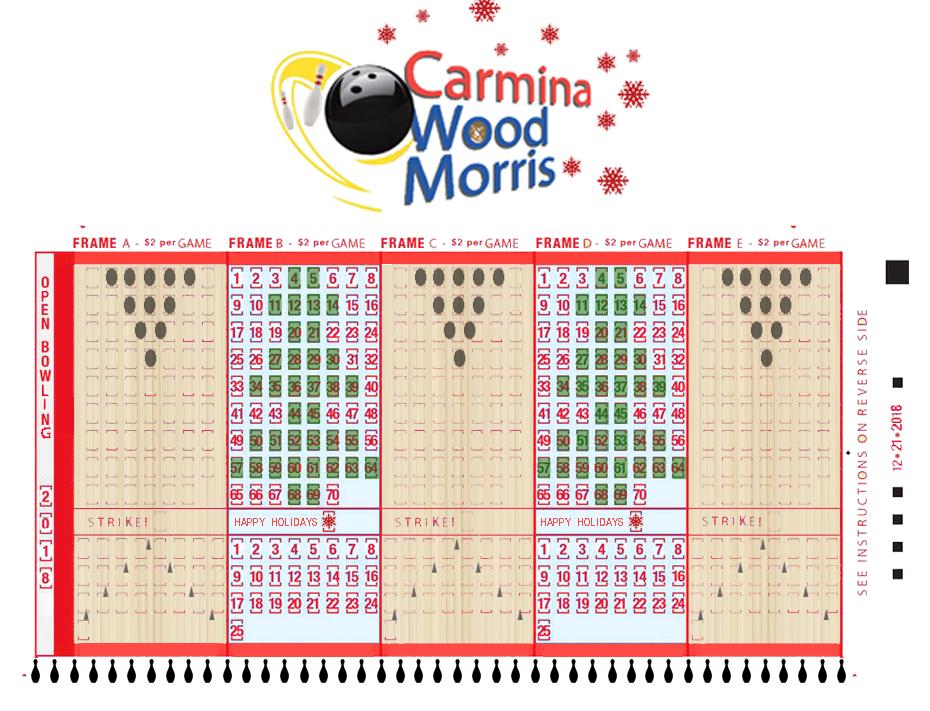 CWM Bowling Lanes & Scores!