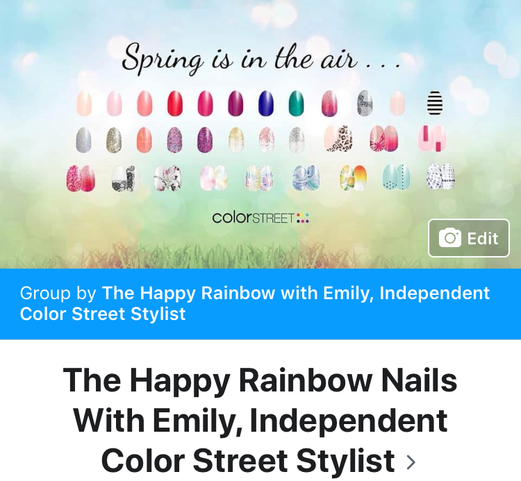 """Join my<a href=""""http://www.facebook.com/groups/emilyrainbownails"""" rel=""""nofollow"""" target=""""_blank"""">VIP community</a> on Facebook to participate in monthly prize drawings and get special deals/pricing!"""