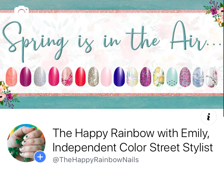 """Like mybusiness pageby <a href=""""http://www.facebook.com/thehappyrainbownails"""" rel=""""nofollow"""" target=""""_blank"""">clicking here!</a>"""