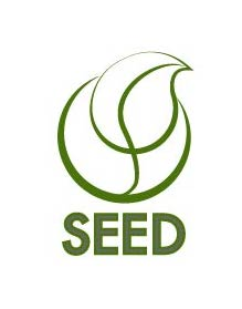 """<div style=""""text-align: left;""""> The SEED Logo</div>"""