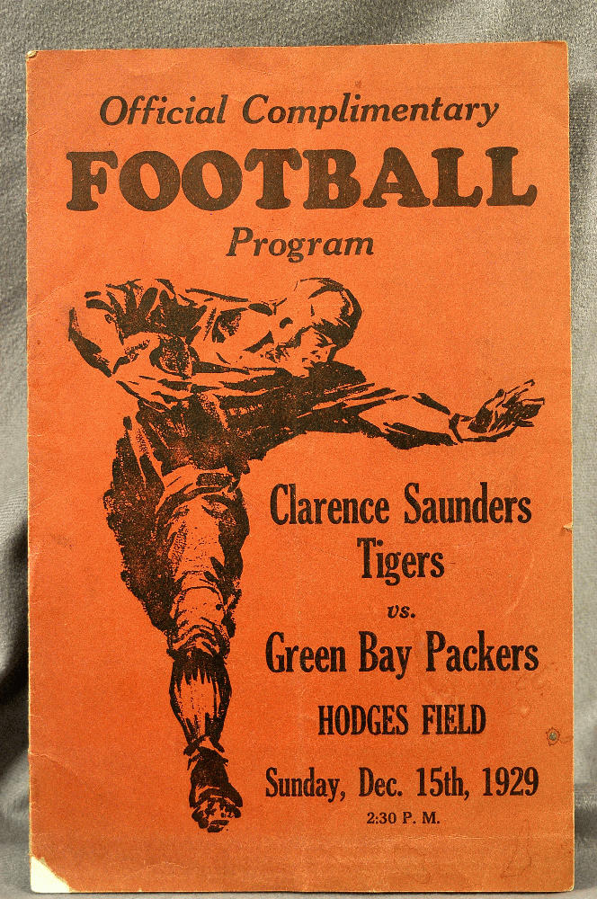Clarence Saunders Tigers, 1929