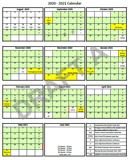 Calendar Option A