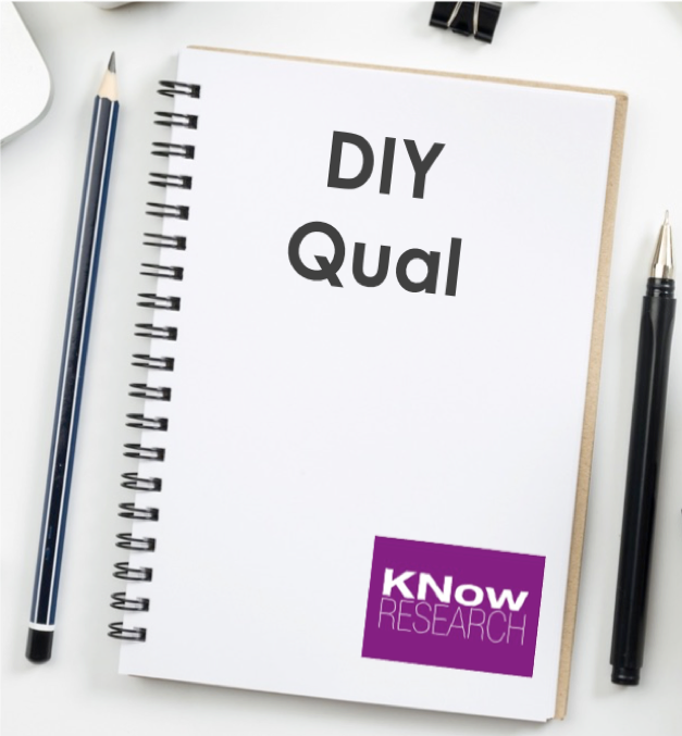 """Our senior-level team of boots-on-the-ground investigators will guide you though the ins &amp; outs of how to approach qualitative market research on your own to get deeper insights efficiently and effectively<br><br><span style=""""font-size: 12pt;"""">Our DIY Qual Lunch &amp; Learn can be presented in person (<em>we'll bring lunch!</em>) or via webcam (<em>ideal for remote teams</em>).</span>"""