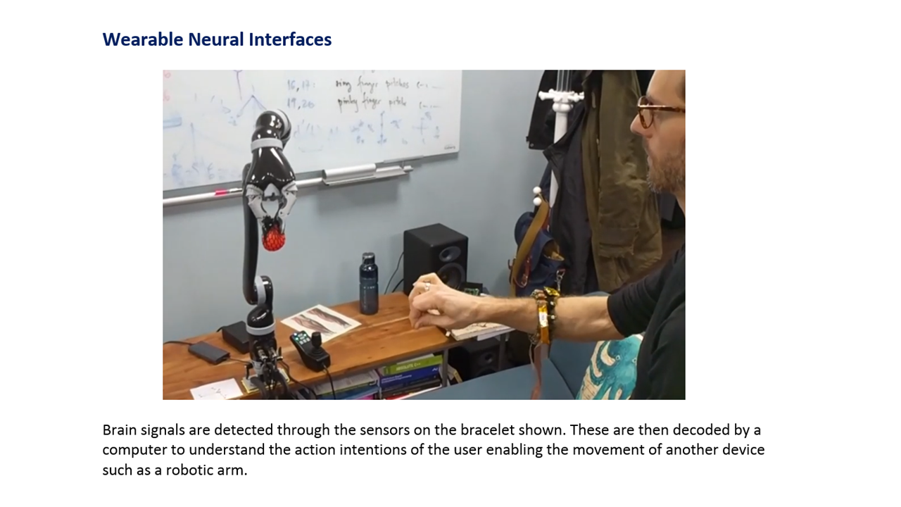 Wearable Neural Interface