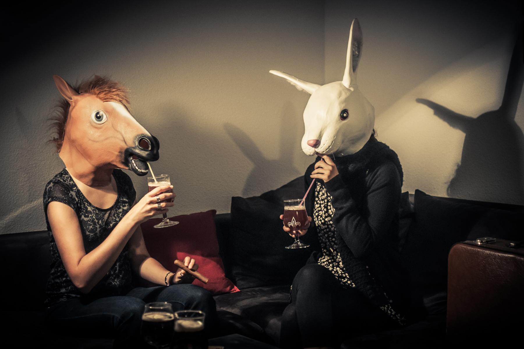 boire une bière avec tes amis.