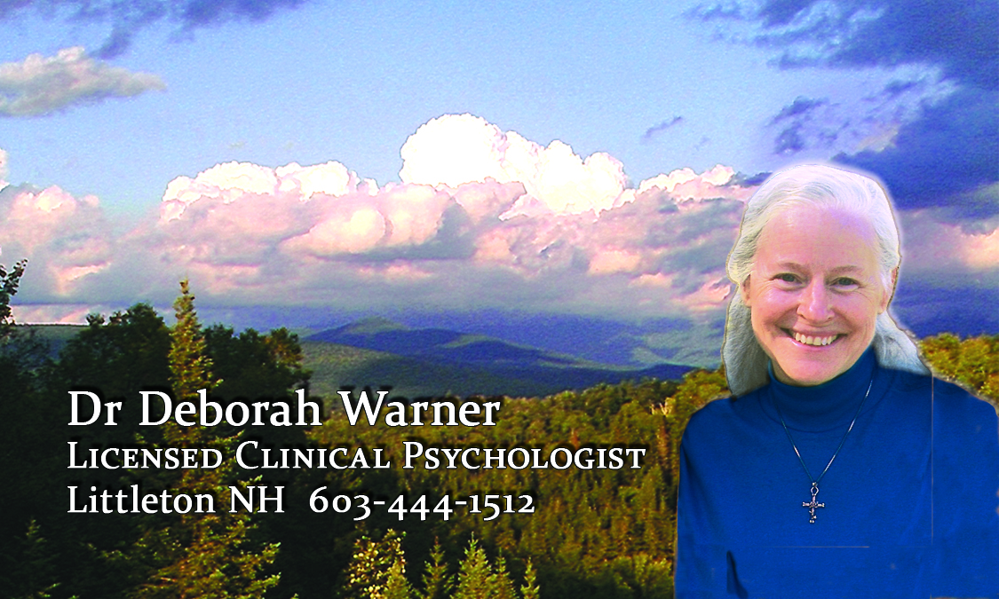 Dr Debi Warner helps you with her positive approaches that strengthen your coping and outlook.